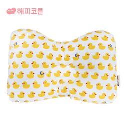 [해피코튼] 팔쿠션 수유베개-아기오리 옐로우