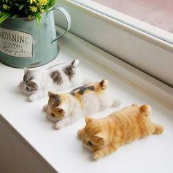 엎드린 고양이 냉장고 자석 (3type)