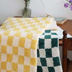 피크닉 체커보드 쟈가드 주방매트 (50x120) - 2color