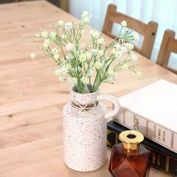 고급조화 성묘 산소 납골당 조화 크라운안개 꽃다발