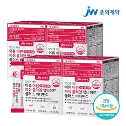 JW중외제약 먹는 어류 어린 저분자 피쉬 콜라겐 펩타이드 4박스