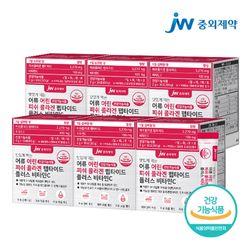 JW중외제약 먹는 어류 어린 저분자 피쉬 콜라겐 펩타이드 6박스