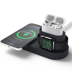 엘라고 맥세이프 애플워치 에어팟 3IN1 충전거치대