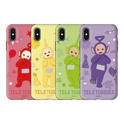 텔레토비 큐티 패턴 아머케이스 아이폰 12 프로맥스