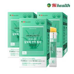 [하이헬스] 이뮤니티 알로에 면역젤리 (20g x 15포) 3박스
