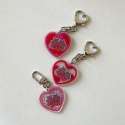 heart bear key ring (키링)