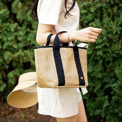 Bonjour Rattan cooler bag - Tan M