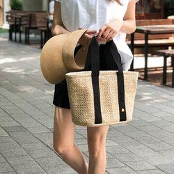 Bonjour Rattan cooler bag - L