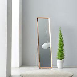 제이픽스 로라 슬림 사각 스탠드 전신 거울 - 거치형