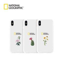 내셔널지오그래픽 아이폰7+ 플라워 젤리 솔 타입 케이스