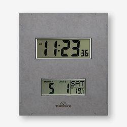 (ktk182)디지털 벽시계(온도요일날짜) 그레이