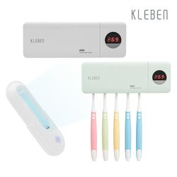 클리벤 퍼펙트 UV 무선 변기 칫솔 살균기세트