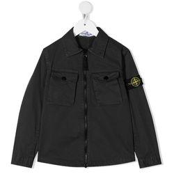 21SS 여성 와펜 패치 셔츠 자켓 블랙 741610410 V0129