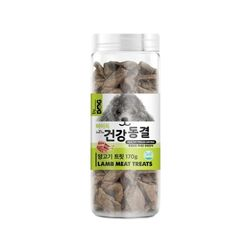 반려동물 간식 바이독 건강동결 양고기 트릿 170g