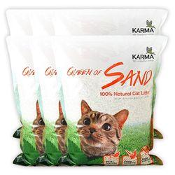 퀸오브샌드 고양이 냥이 두부 모래 7L(오리지날)(6개)