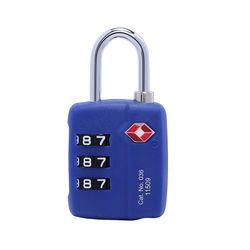 트래블블루 036 TSA 자물쇠 블루