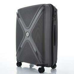 트래블케이스 엑스오 XO 24형 그레이 경량 하드캐리어