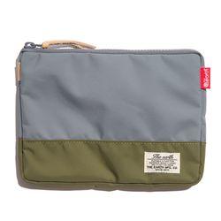 디얼스 CB N POUCH - GREY/OLIVE 파우치 손가방 포켓