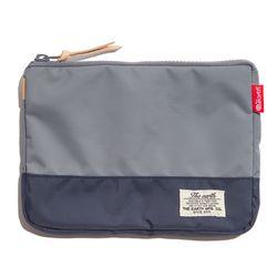 디얼스 CB N POUCH - GREY/NAVY 파우치 손가방 포켓