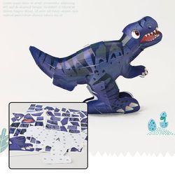 컬러룬3D퍼즐 티라노사우루스 스티커풍선만들기공룡