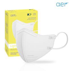 아에르 라이트핏 KF94 보건용 마스크 화이트 10매