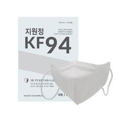국내필터 KF94 지원정 새부리마스크 대형 화이트 100매(25매입)