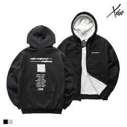 엑스엑스아이엑스 XXIX - BLACK HOLE -양털 후드 집업