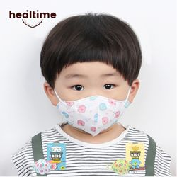 힐타임 초소형 쪼꼬 유아 어린이 마스크 새부리형 화이트 25매
