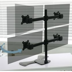 컴스 모니터거치대 쿼터 자유배치형 일관절형 4대