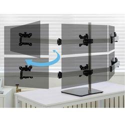 컴스 모니터거치대 자유배치형 회전 삼관절형 6대