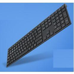 컴스 키보드 슬림형 블루투스 V3.0 블랙 리튬배터리
