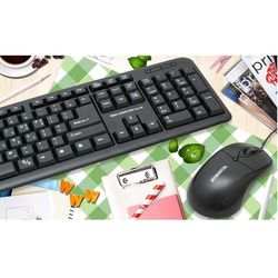 컴스 키보드 마우스 세트 TGC MK1200 1000dpi