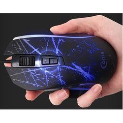 컴스 마우스 4색 LED 6버튼 게이밍 사무용
