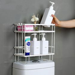 욕실 변기 틈새 코너 화장실 수납 장 정리대 벽 선반