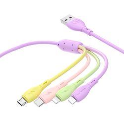 4in1 멀티 충전기 휴대폰 케이블 C타입