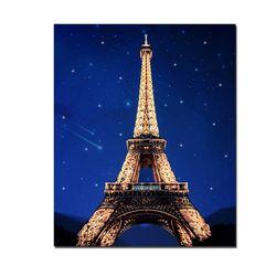 DIY LED 페인팅 - 파리 에펠탑 LP06 (40x50)