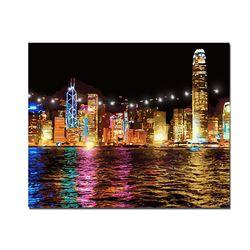 DIY LED 페인팅 - 어느도시의 밤풍경 LP03 (50x40)