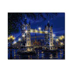 DIY LED 페인팅 - 런던타워브릿지 LP01 (50x40)