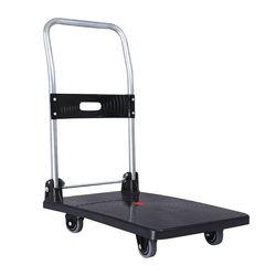접이식대차 핸드카트 약100kg 적재가능 (S2-100BK)