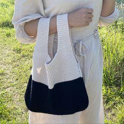 여신 니트백 숄더백 에코백 여름 패션 가방