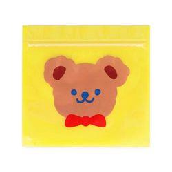 빨강리본 곰돌이 지퍼백 (10개)