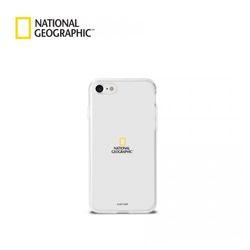 내셔널지오그래픽 아이폰7+ 크리스탈 클리어 세로형 젤리케이스