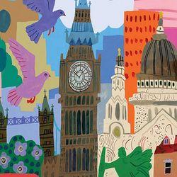 런던 라이프 1000피스 직소퍼즐