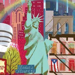 뉴욕 라이프 1000피스 직소퍼즐