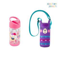 어린이집 선물 세트(물병가방+빨대물병) - 라마