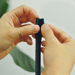 개방형 실리콘빨대 사용이 편리한 빨대 (일반) 22cm 10개입
