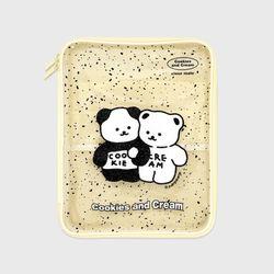Cookie cream-ivory(PVC 파우치)