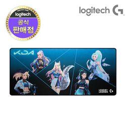 로지텍 코리아 G840 KDA XL 게이밍 마우스 장패드