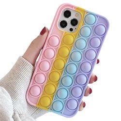 아이폰8플러스 팝잇 뽁뽁이 실리콘 케이스 P613