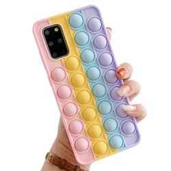 갤럭시S10 팝잇 뽁뽁이 푸쉬팝 실리콘 케이스 P613